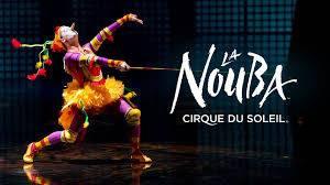 """Cirque de Soleil's """"La Nouba"""" poster"""